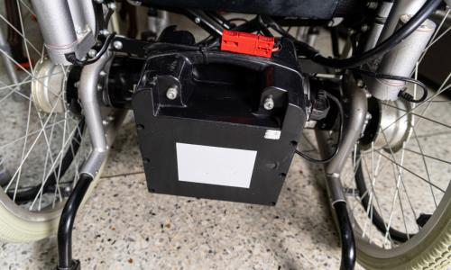 batería silla eléctrica