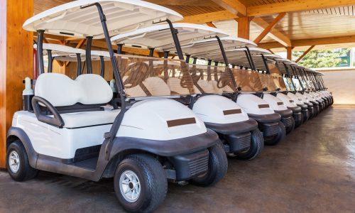 baterías para carros de golf